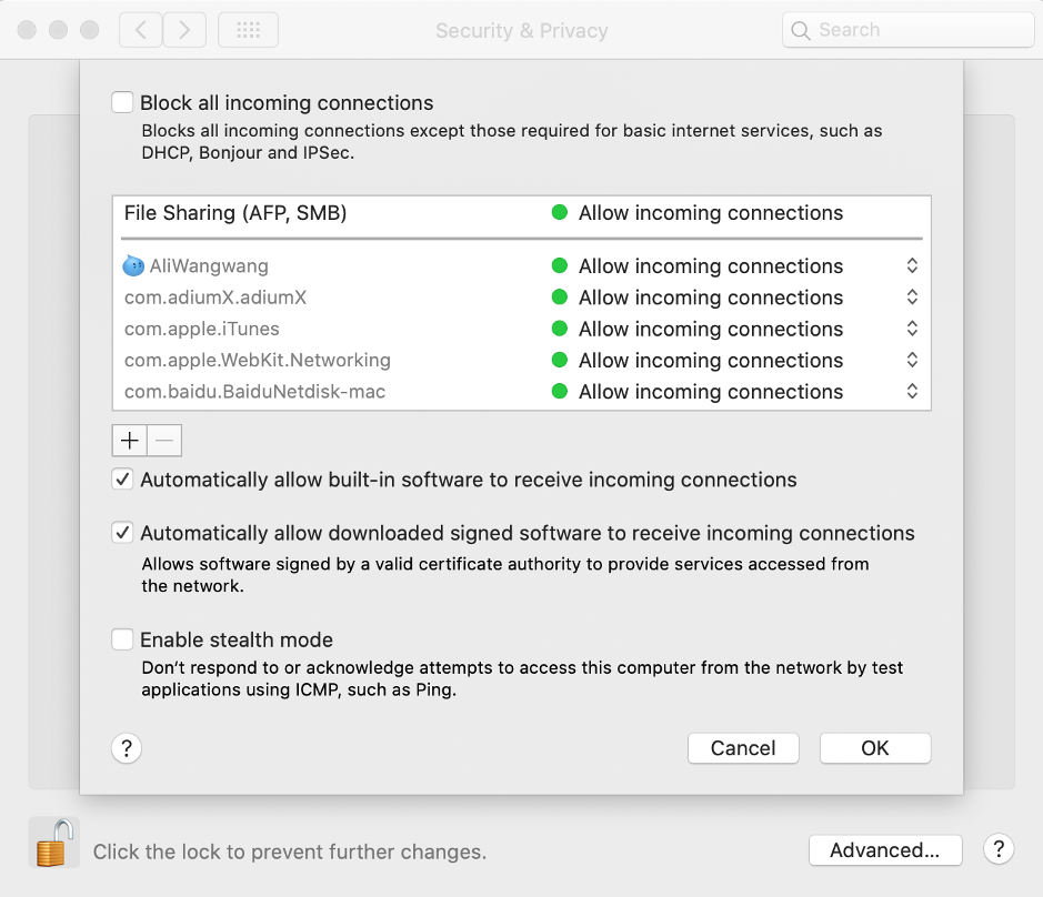mac system preference
